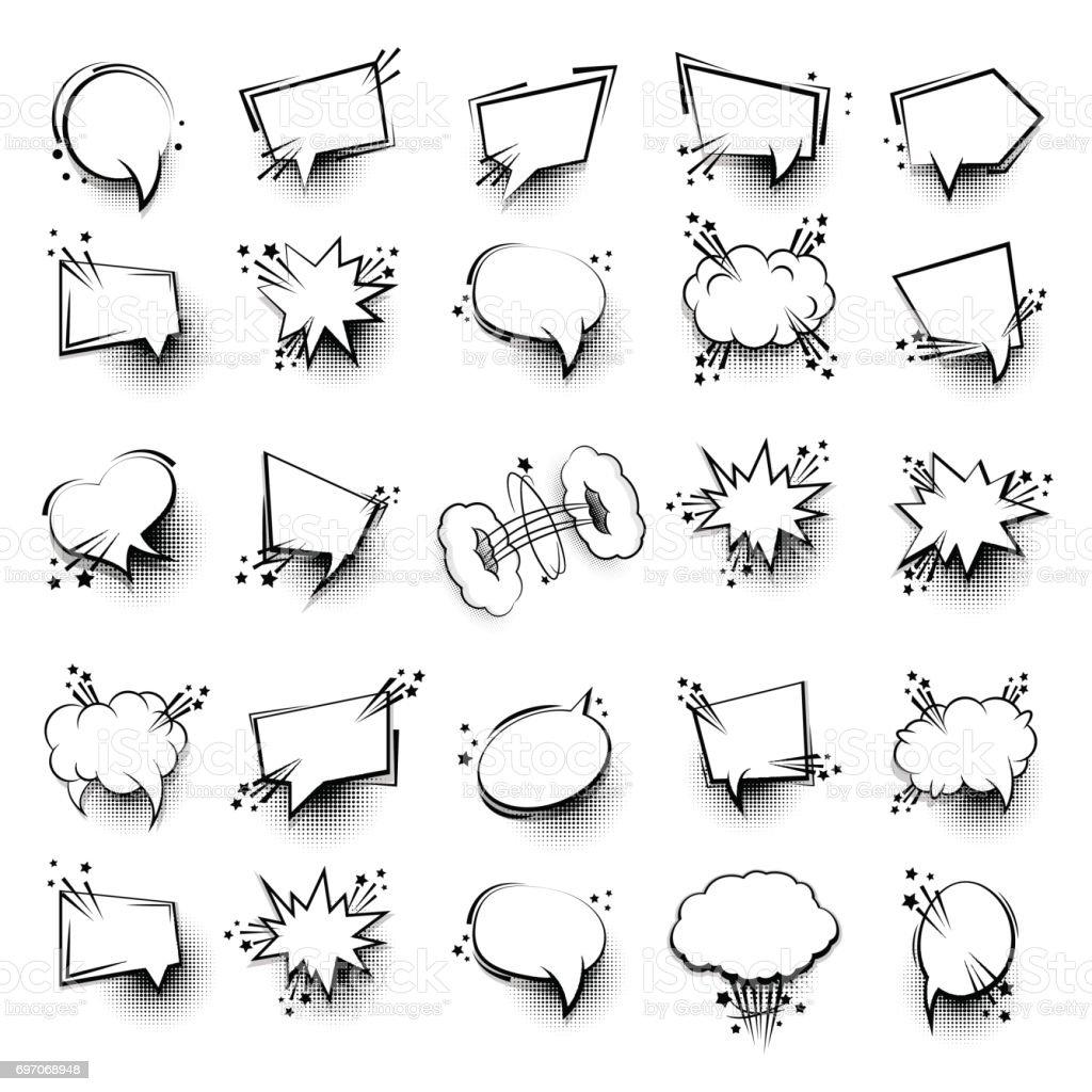 Ilustración De 25 Divertido Establecer Cuadro De Diálogo