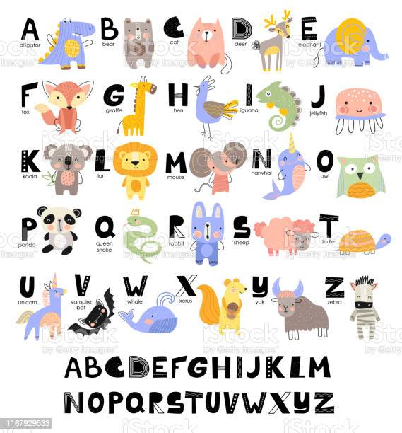 Funny alphabet for young children with names and pictures of animals vector id1167929533?b=1&k=6&m=1167929533&s=612x612&h=eu rsn4iczmqbhm5tanli bi4lx qtfvci1t6of 5lu=