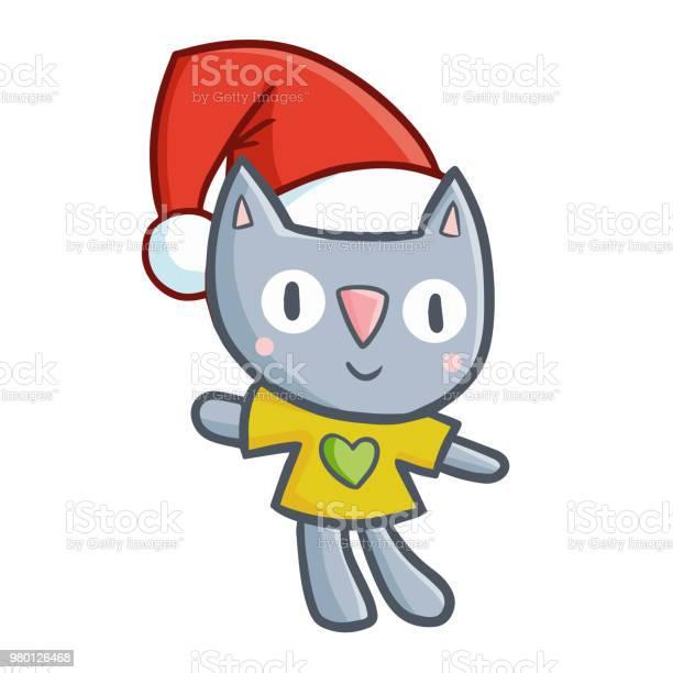 Funny and cute cat doll wearing santas hat vector id980126468?b=1&k=6&m=980126468&s=612x612&h=zs94z4mnieu wgne2hd2xcx0shfpuau9ggle9n3wbrc=
