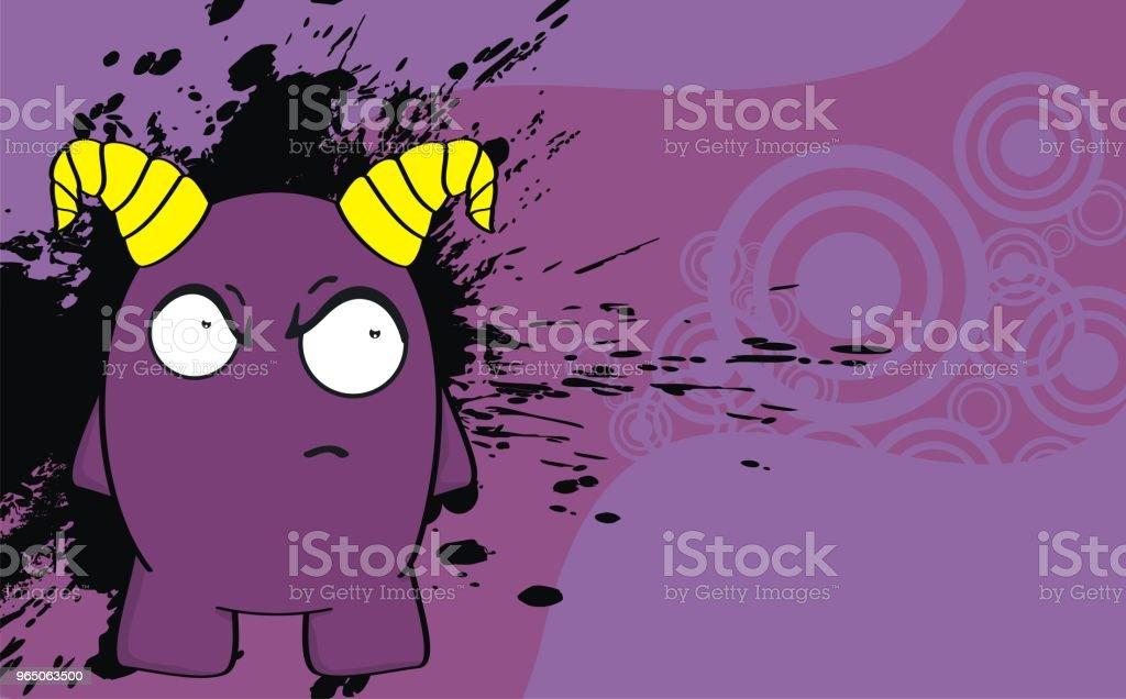 funny angry monster cartoon expression background funny angry monster cartoon expression background - stockowe grafiki wektorowe i więcej obrazów ameryka Łacińska royalty-free