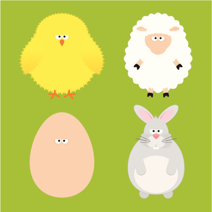 funny animals Easter