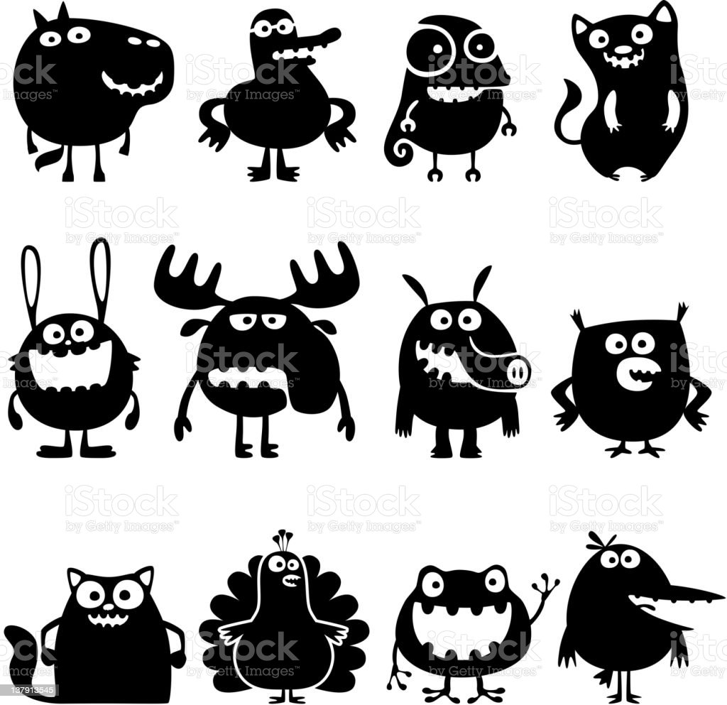 funny animals royalty-free funny animals stock vector art & more images of animal