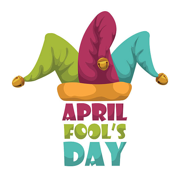 A funny April fools day vector design illustration vector art illustration