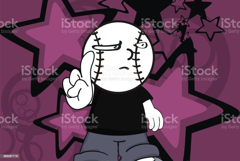 funny baseball head kid cartoon expression background royalty-free funny baseball head kid cartoon expression background stock vector art & more images of ball