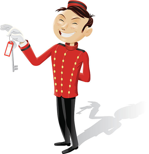 Quail Chase Apartments: Royalty Free Bellboy Clip Art, Vector Images
