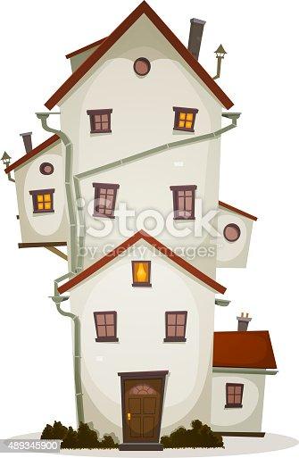 istock Funny Big House 489345900