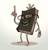 Funny book green