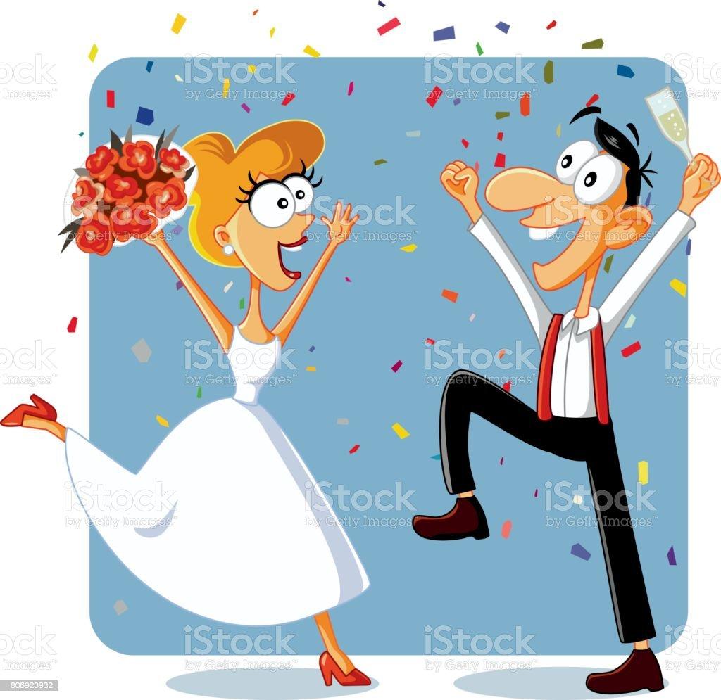 Brautpaar Clipart Lizenzfrei Gograph