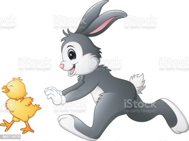 Funny bunny cartoon chasing chick vector id665719078?b=1&k=6&m=665719078&s=612x612&h=adtcfdj2mvmxtoile28o1jolbagea0o ijmeynayhki=