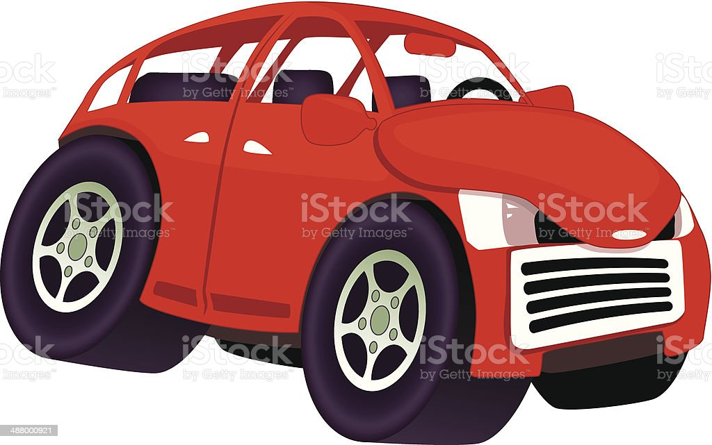Funny cartoon car royalty-free funny cartoon car stock vector art & more images of anger