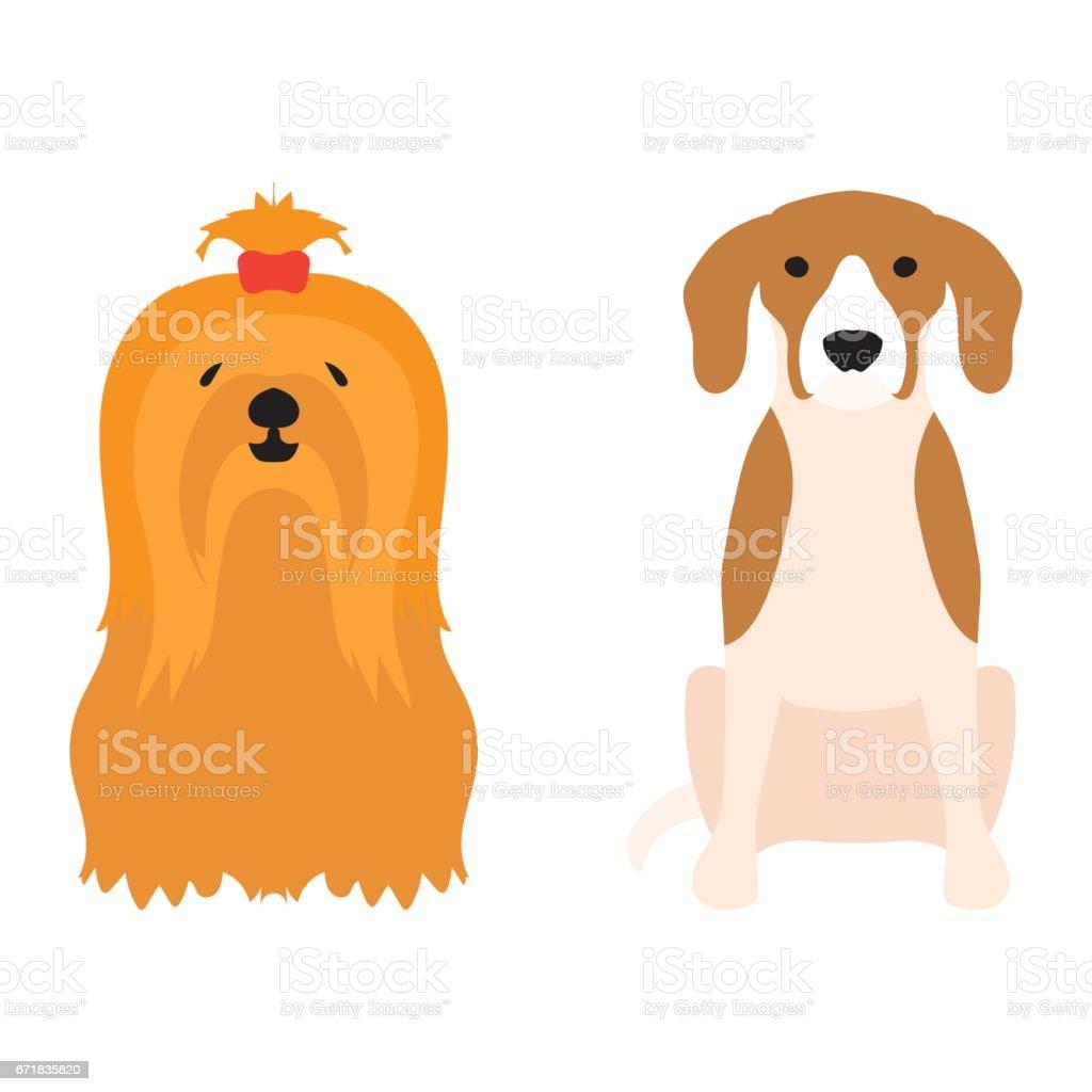 Komik Karikatür Köpek Karakteri Ekmek Karikatür Köpek Dostu Sevimli