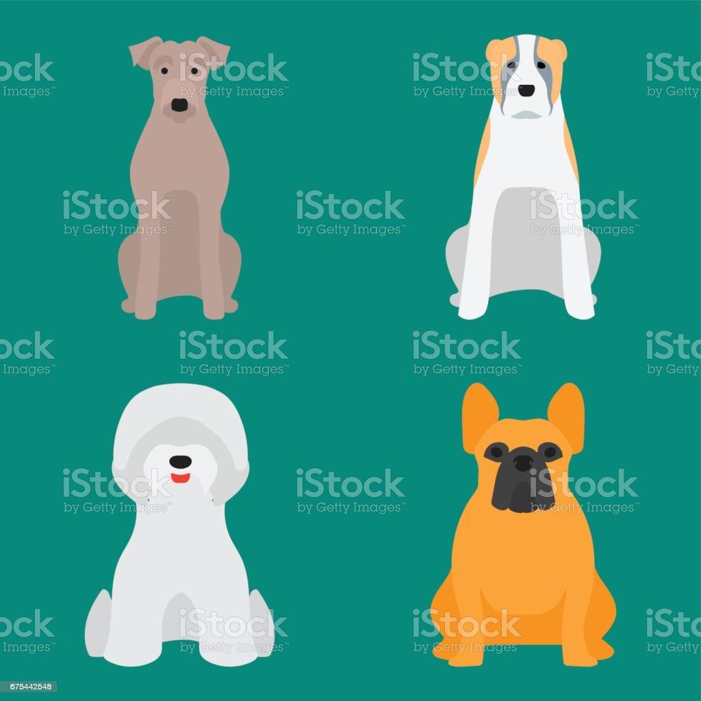 Drôle de bande dessinée chien caractère pain dessin animé chiot sympathique adorable canine illustration vectorielle drôle de bande dessinée chien caractère pain dessin animé chiot sympathique adorable canine illustration vectorielle – cliparts vectoriels et plus d'images de amitié libre de droits
