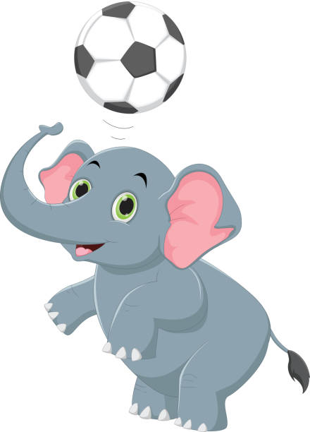 Elephant Ball Illustrations, Royalty-Free Vector Graphics ...