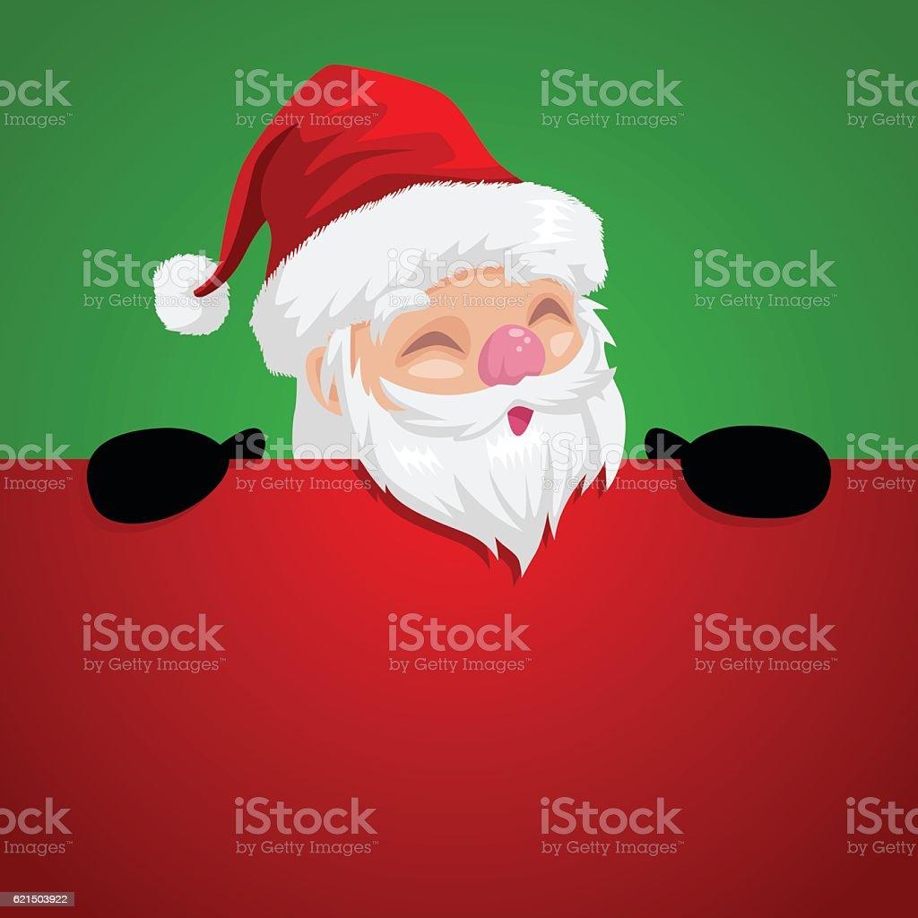 Funny cartoon illustration of a peeping Santa Claus funny cartoon illustration of a peeping santa claus – cliparts vectoriels et plus d'images de caricature libre de droits