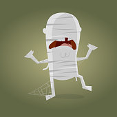 funny cartoon mummy