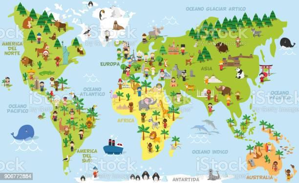 Funny cartoon world map with childrens of different nationalities vector id906772884?b=1&k=6&m=906772884&s=612x612&h=y riz9xujyqr yiuym4t2oztigtyau7qskpod91yzcw=