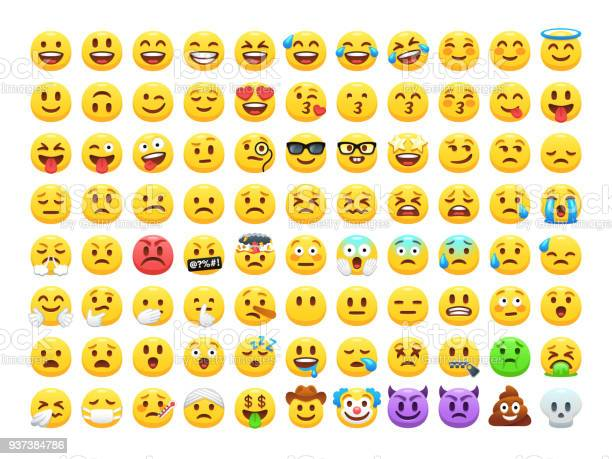 Funny cartoon yellow emoji and emotions icon collection mood and vector id937384786?b=1&k=6&m=937384786&s=612x612&h=jj6wzehiptx4qswl2vg0armdi00r mknmsh3wc2tngw=