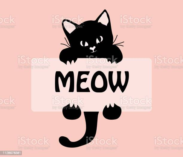 Funny cat hanging on meow sticker cute cartoon character funny baby vector id1128678381?b=1&k=6&m=1128678381&s=612x612&h=qeq bbzopvziwogt3nay phuslzslj8szdocgcclpva=