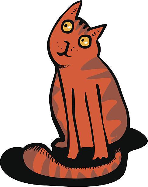 Best Orange Tabby Cat Illustrations, Royalty-Free Vector ...