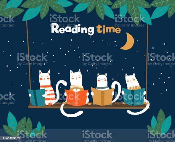 Funny cats reading books on swing vector id1145153189?b=1&k=6&m=1145153189&s=612x612&h=xi3a5jpmcpo84cz hgfwe6dgrt6yqgqoxum 5  rmxs=
