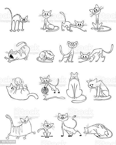 Funny cats set vector id637928506?b=1&k=6&m=637928506&s=612x612&h=ubfh3tpmdg02rkyy7 imcdkh dyw47tpwpta2vnkwhk=