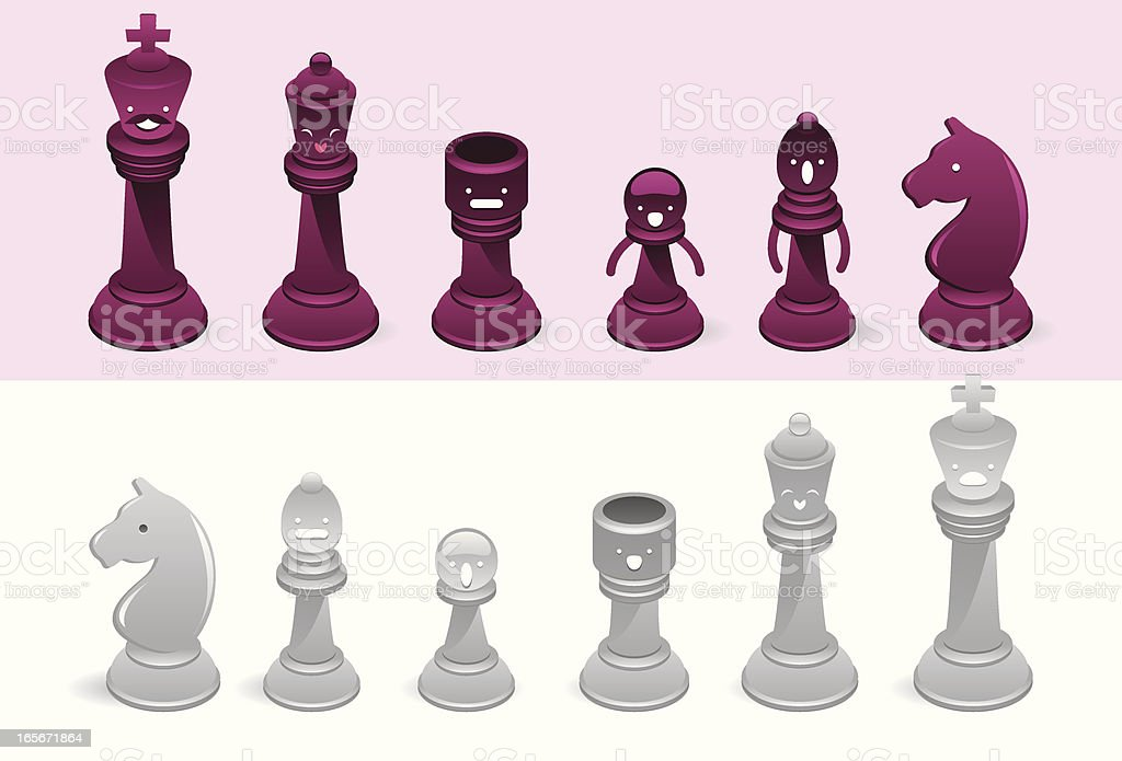 Funny chess royalty-free funny chess stock vector art & more images of anger