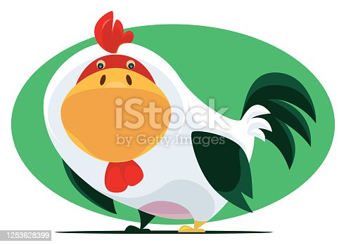 istock funny chicken character 1253628399