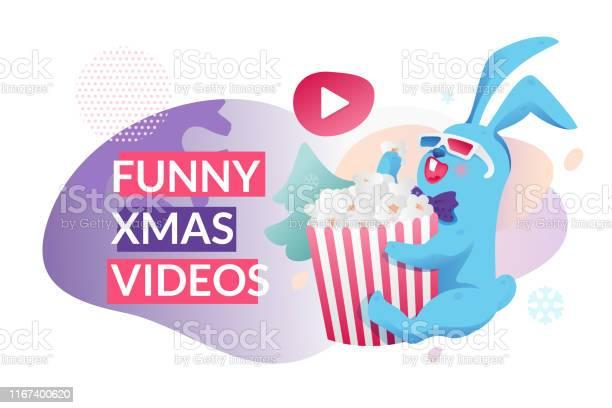 Funny christmas videos banner vector id1167400620?b=1&k=6&m=1167400620&s=612x612&h= cwkwnkgzzmgxrc872zis v wlxi2elqq63ylqzw8c4=