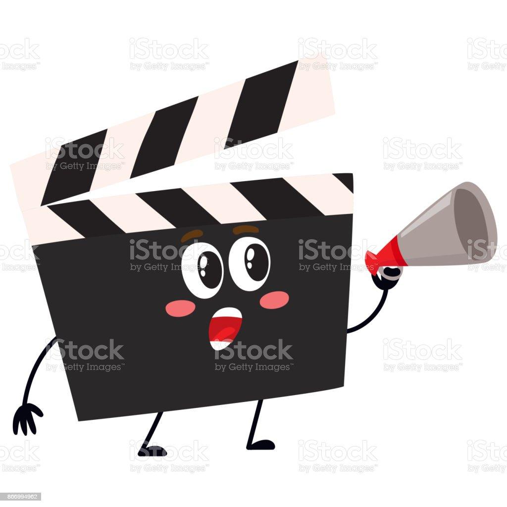 Cartoon movie clapper
