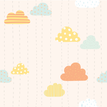 Funny clouds pattern
