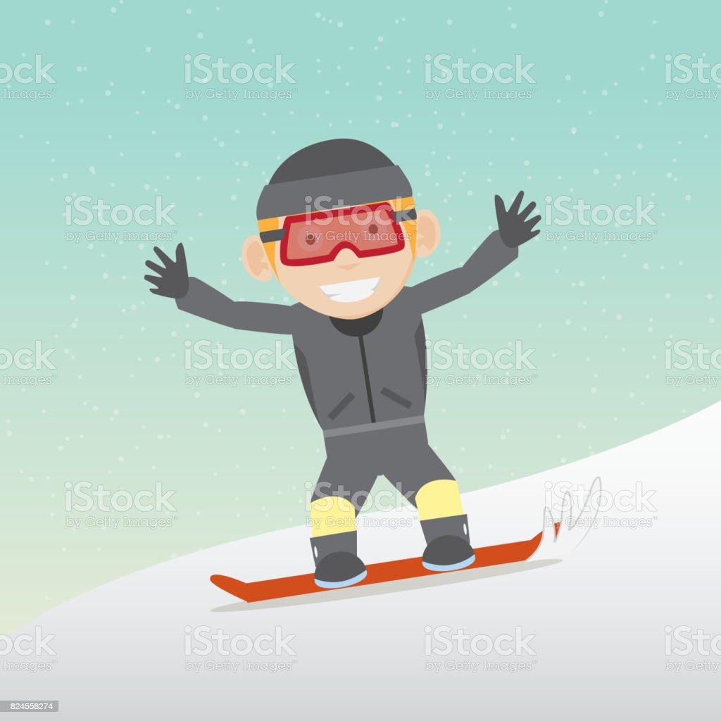 Lustige ski bilder