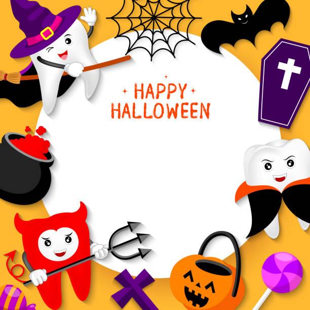 Frases Sobre Halloween Graciosas Vectores Libres De Derechos
