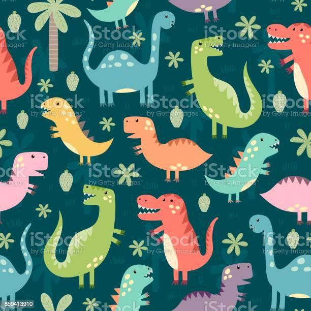 Funny dinosaurs seamless pattern vector id859413910?b=1&k=6&m=859413910&s=612x612&h=cysavlb6mehee6rb6q1b2crf3q5gn6ohosq qk fufw=