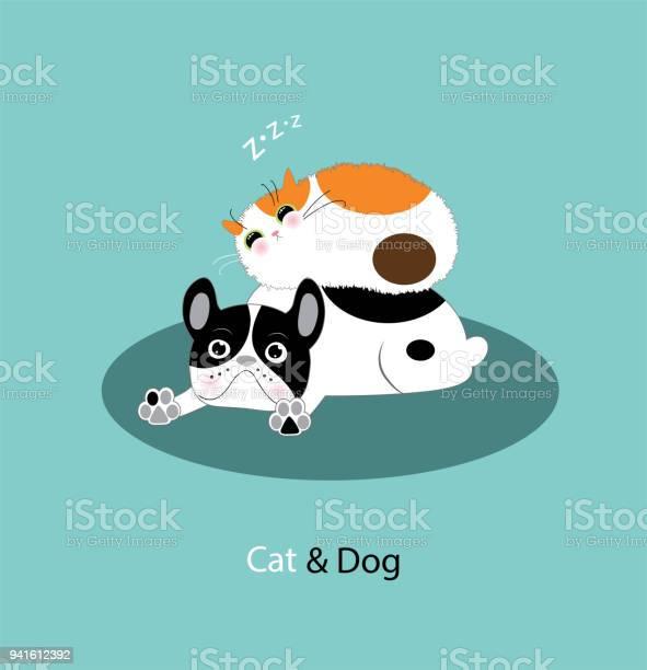 Funny dog and cat vector id941612392?b=1&k=6&m=941612392&s=612x612&h=eq0frjsdg7jk8 qaturtqug ifbb r3kel8yptpybzk=