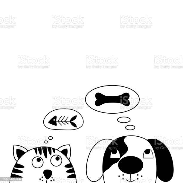 Funny dog and cute cat best friends vector id1001001366?b=1&k=6&m=1001001366&s=612x612&h=bs07a bjxfr0amvhfiqdtmc3a4edcwtgzplge6vlzlw=