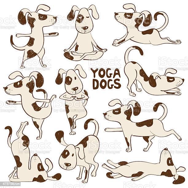 Funny dog icons doing yoga position vector id473756204?b=1&k=6&m=473756204&s=612x612&h=rs6bvxpefwuzx64945istjezwgi3djv6hvr su812py=