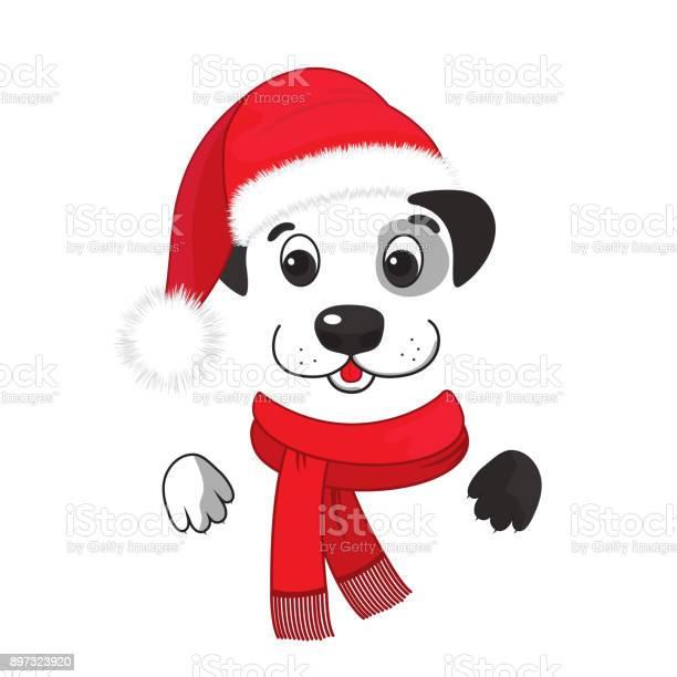 Funny dog in a santa hat and a scarf with a fringe chinese new year vector id897323920?b=1&k=6&m=897323920&s=612x612&h=fqvcyzaugeofzdzzryomnrol0ig9ugwphgp x30dljw=
