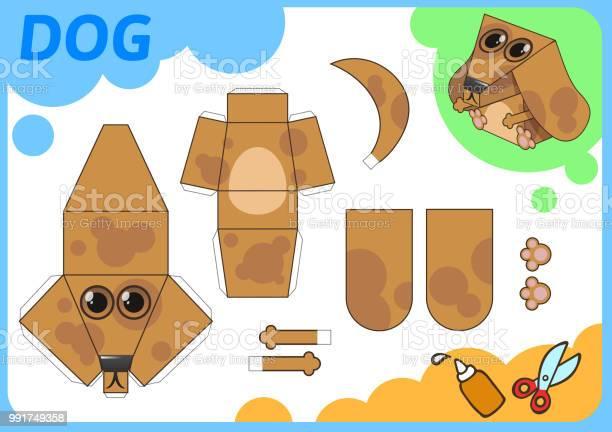Funny dog paper model small home craft project paper game cut out vector id991749358?b=1&k=6&m=991749358&s=612x612&h=tc5j2ff btfpdkz5vxbjgcz2hstmsen redneairznm=