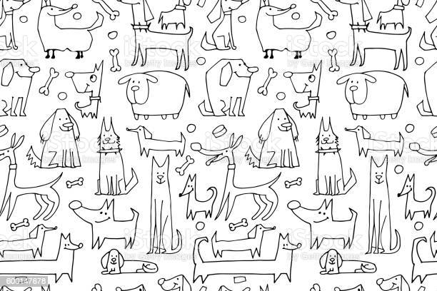 Funny dogs collection seamless pattern for your design vector id600147678?b=1&k=6&m=600147678&s=612x612&h=sj e7xhndrmwzrunbmtfxldj5d hcbhh4pkfxtsmnqg=