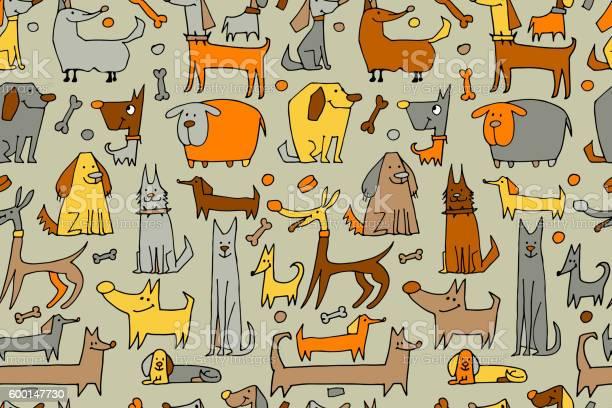 Funny dogs collection seamless pattern for your design vector id600147730?b=1&k=6&m=600147730&s=612x612&h=jfzqpvlkjofv6xd5kye0 vcaax5lltozyztankzhsfk=