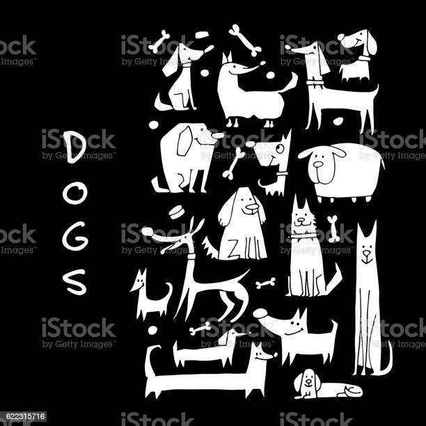 Funny dogs collection sketch for your design vector id622315716?b=1&k=6&m=622315716&s=612x612&h=uxifqw2ylbotunespf5fnfckiwpv6irlejqloyk kii=