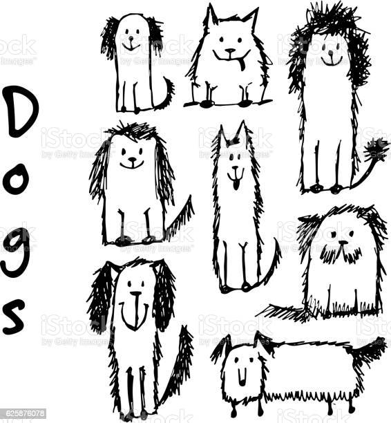 Funny dogs collection sketch for your design vector id625876078?b=1&k=6&m=625876078&s=612x612&h=nwk6yvrljxn7iuq7lfbipw9ws1g vj1hz5c f0ytaoa=