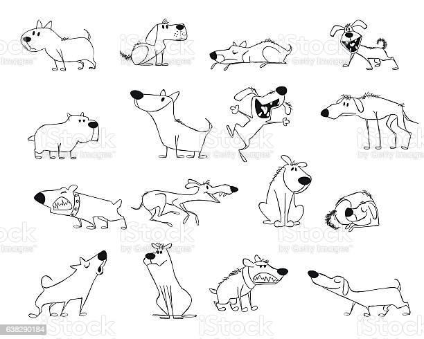 Funny dogs set vector id638290184?b=1&k=6&m=638290184&s=612x612&h=atms8oguxbv8esrrgzxtwqahp2pohcwey9anqvpvp9a=