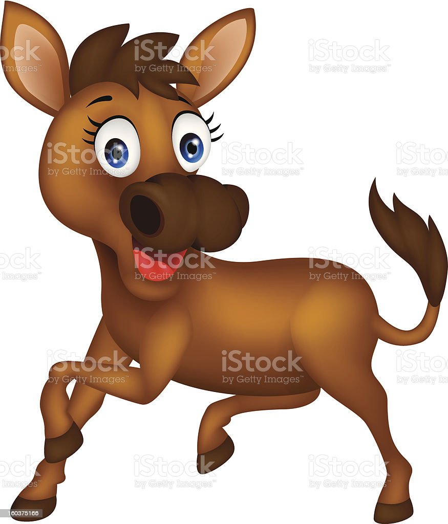 funny donkey royalty-free funny donkey stock vector art & more images of animal