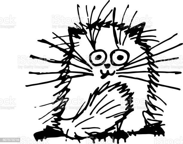Funny fluffy cat sketch for your design vector id507573216?b=1&k=6&m=507573216&s=612x612&h=0uzx9awm1tfbr9imfwulrbrlqahjpaypv65rfrkzyo0=