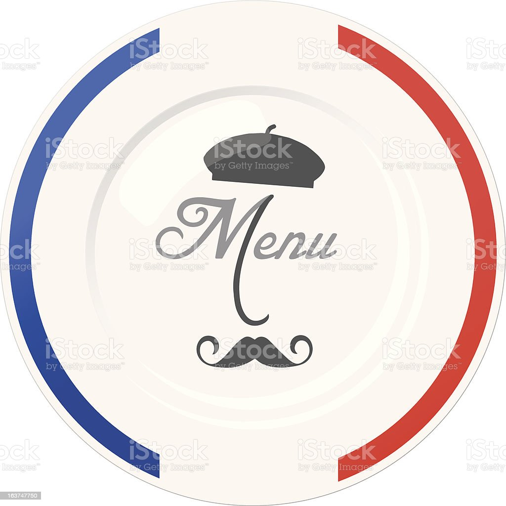 funny french restaurant menu cover design template stock vector art