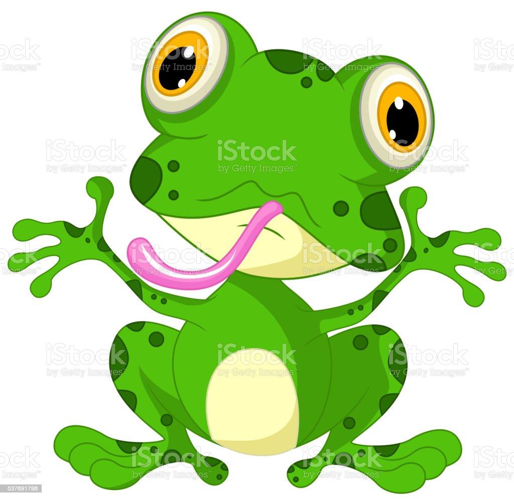 lustige frosch comic sitzbereich stock vektor art und mehr bilder von amphibie 537691798 istock. Black Bedroom Furniture Sets. Home Design Ideas