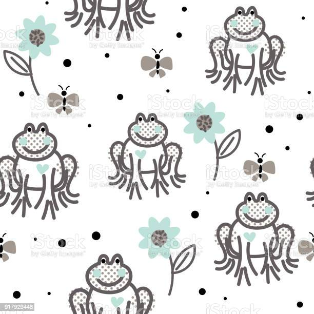 Funny frogs grey and blue seamless vector pattern vector id917929448?b=1&k=6&m=917929448&s=612x612&h=ngbfggfdrabhl6yw6oxc2naqo lq89isuat4od 3mm0=