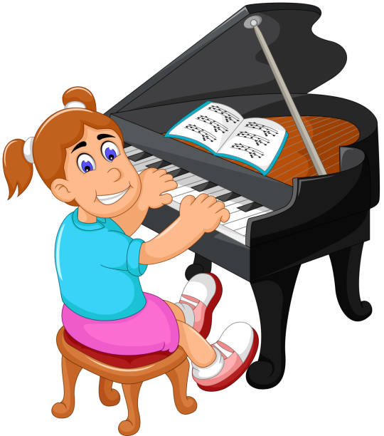 Royalty Free Keyboard Player Clip Art, Vector Images ...