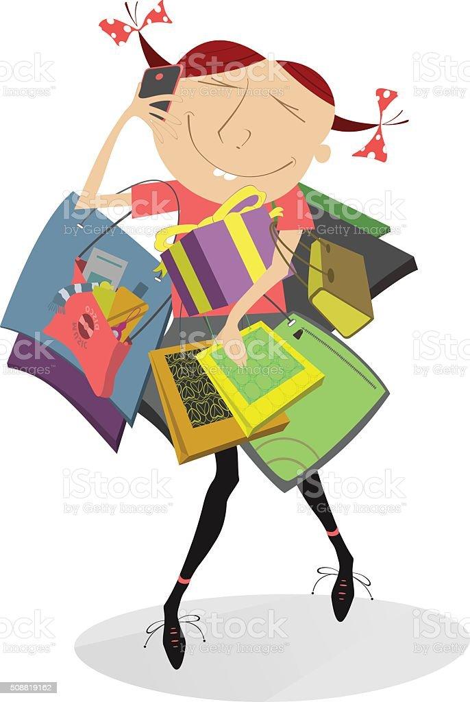 Lustige Shopping Bilder